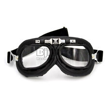 Aviator Pilot Cruiser Motorcycle Scooter Goggles ATV Dirt Bike Off Road Riding