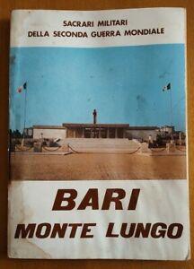 BARI MONTE LUNGO sacrari militari della seconda guerra mondiale 1974 Min Difesa