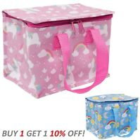 Lunch Bag Picnic Bag Insulated Recycled Boy Girl Children - Sass and Belle