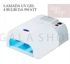 LAMP UV 36W FOR RECONSTRUCTION NAIL GEL NAIL POLISH NAIL ART OVEN BEAUTICIAN