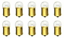 10x #63 Light Bulb Miniature Incandescent Auto Car RV Camper Lamps BA15S*J