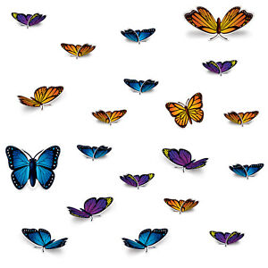 The Beistle Company Butterfly Cutouts (Pack of 12)
