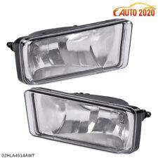 Left+Right Fog Lights For 07-13 Chevy Silverado Tahoe Suburban Bumper Lamps