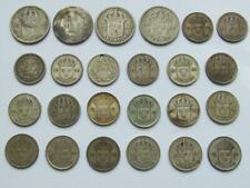 More details for sweden lot of coins coins which are 60% silver with  1.29 troy ozs of silver