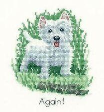 Westie Cross Stitch Kit - It's a Dog's Life