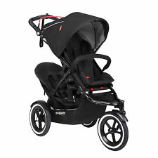 Phil & Teds 2016 Sport Stroller & Double Kit Black- Includes Double Seat!! New!!