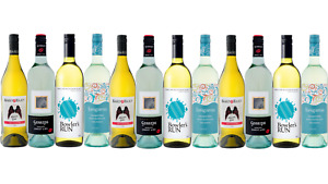Sauv Blanc & Moscato Red & White Wine Mixed 12x750ml FAST & FREE SHIPPING!!