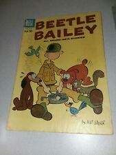 Dell Comics BEETLE BAILEY 26 1960 silver age comic strip cartoon mort walker art