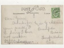 Miss Grace Adams Brampton Brian Herefordshire 1913 282a