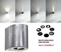Designer LED Outdoor Wall light Canto Nordlux 2x5W 700Lm 3000K galvanized