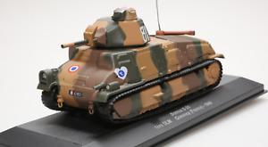 MILITAIRE. TANK CHAR SOMUA S-35 1ere DLM Quesnoy 1940