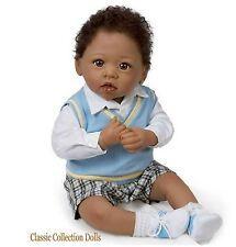 "Ashton Drake ""MICHAEL,I LOVE YOU""-LIFELIKE POSEABLE BABY DOLL-NEW-IN STOCK NOW!"