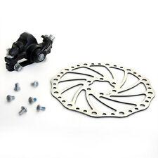Mechanical Front Disc Brake Kit Set MTB Mountain Bicycle Bike Black