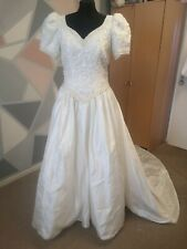 Vintage Wedding Gown Needs attention