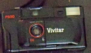 Vinta point & shoot 35 mm Camera ps:30 with case