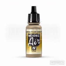 Vallejo Model Air War Paints Acrylic Airbrush Colous Full Set Spray 17ml Bottles