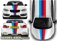 BMW racing stripes OTT003 graphics stickers decals M sport 1 2 3 4 5 series