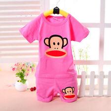 Vestiti rosa estate per bambino da 0 a 24 mesi