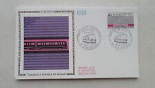 FDC Enveloppe Premier Jour - CEF - Europa Transports urbains de demain - 1988