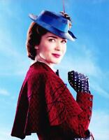 EMILY BLUNT SIGNED MARY POPPINS RETURNS 8X10 PHOTO AUTHENTIC AUTOGRAPH COA