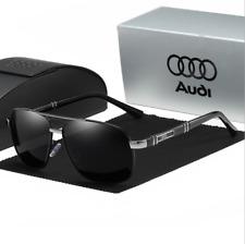 Unisex Herren Audi Sonnenbrille Polarisiert Metal 100% UV 400 Pilotenbrille 4S