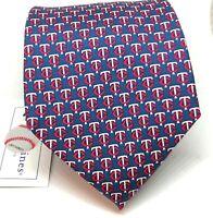 Minnesota Twins Vineyard Vines Tie MLB Silk Necktie $85 Tag MLB Necktie