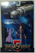 Ambassador Delenn Babylon 5 Figure with Minarbi Flyer NIB WB Toy 1997