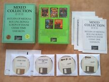 STARBYTE - MIXED COLLECTION  PC DOS 3,5  Disk Version deutsch USK 16 #