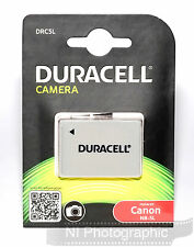 Duracell DRC5L Canon NB-5L Rechargeable Battery New UK Stock