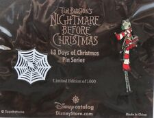 DISNEY CATALOG NIGHTMARE BEFORE CHRISTMAS 13 DAYS #1 JACK WEB LE 1000 PIN SET