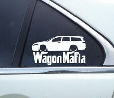 Lowered WAGON MAFIA stickers - for Honda Accord Tourer (7th gen 2003-2008)