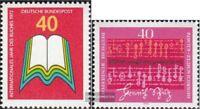 BRD (BR.Deutschland) 740,741 (kompl.Ausgaben) postfrisch 1972 Sondermarken