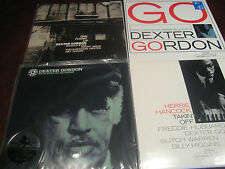 DEXTER GORDON AUDIOPHILE LIMITED EDITION NUMBERED 180 GRAM 33 1/3 VINYL SET + CD