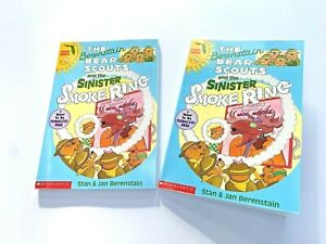The Berenstain Bear Scouts and the Sinister Smoke Ring Book Florida Edition 1997