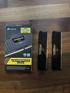 Corsair Vengeance LPX 16GB (2 x 8GB) DDR4 DRAM 3200MHz Memory Kit - Black