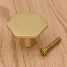 Bronze Brass Shape of Hexagon Design Knob Pull Handle for Drawer Cabinet Kitchen