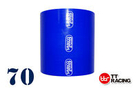 """Silicone Straight Coupler intercooler Hose Pipe ID: 70mm (2.75"""") 2.75 inch 3-ply"""
