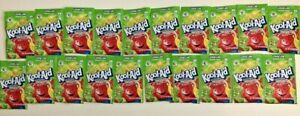 20 Packs of Kool Aid LEMON LIME Flavor Drink Mix Packet NEW Gluten Free FREE SHP