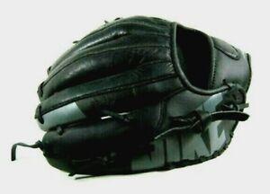 "Nike MVP Edge 11"" Youth Baseball Glove Black/Grey Left Hand"