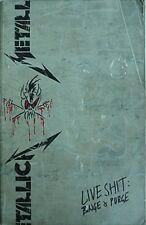 1993 METALLICA CONCERT BOOK - METALLICA LIVE ****: BINGE & PURGE