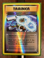 Pokemon Card  BLASTOISE SPIRIT LINK  REVERSE HOLO  EVOLUTIONS  73/108 *MINT*