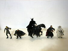 THE LORD OF THE RINGS set 5 action figures BLACK GATE OF MORDOR TOY BIZ (2003)