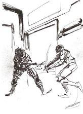 Metal Gear Solid Original Comic Art Ashley Wood 3a ThreeA Threezero