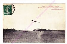 CPA 44000 NANTES AVIATION Thomas en plein vol monoplan Antoinette ca1910