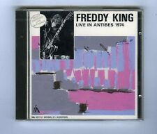 FREDDY KING CD (NEW) LIVE IN ANTIBES 1974