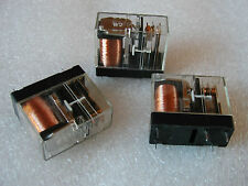 FUJITSU SPDT  15 Amp CONTACTS  12V DC CONTROL  RELAYS  - 4 pcs