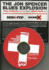 JON SPENCER BLUES EXPLOSION Bag of bones RARE EDIT PROMO DJ CD single TOUR DATES