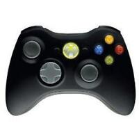 Official black Xbox 360 Wireless Controller xbox 360 - BRAND NEW SEALED