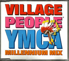 VILLAGE PEOPLE Ymca Millennium w/ RARE EDITS & MIXES CD Single SEALED 1998