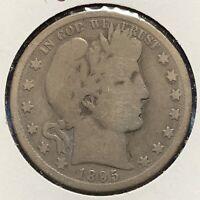 1895-O 50C Barber Half Dollar (50389)